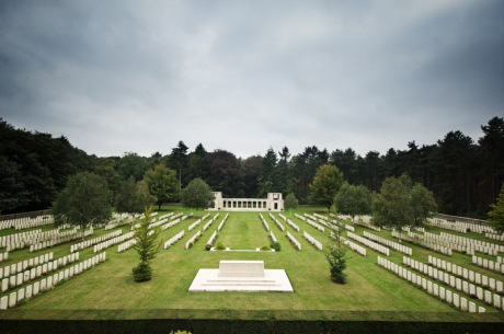 The Buttes New British Cemetery is the last resting place of 378 New Zealand soldiers who died during fighting in Beligium, mostly in 1917.